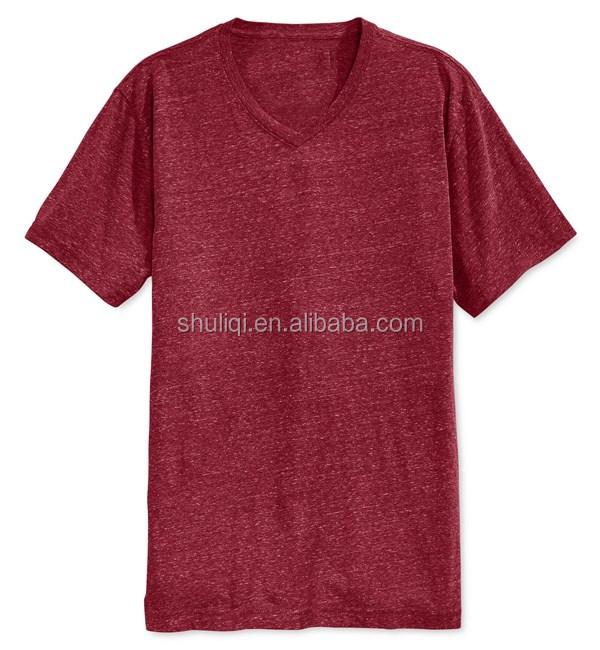 Breathable V Neck High Quality Bamboo T Shirts Wholesale