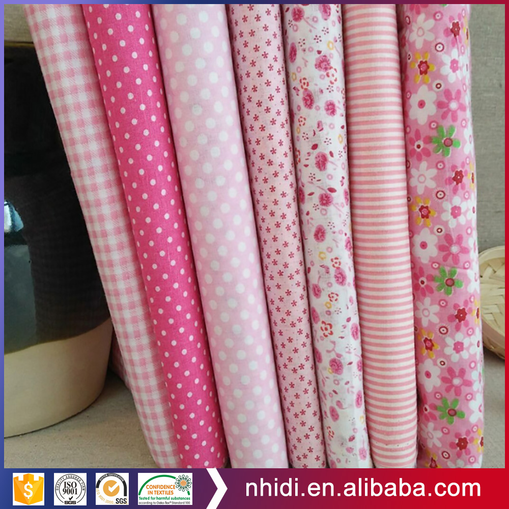 wicking finishing peached textile design print fabrics 100% cotton pink floral