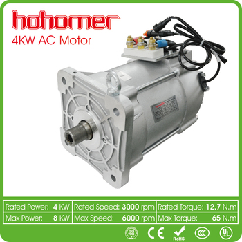 Hohomer 4kw 3 phase ac induction motor for electric patrol for Protection of 3 phase induction motor