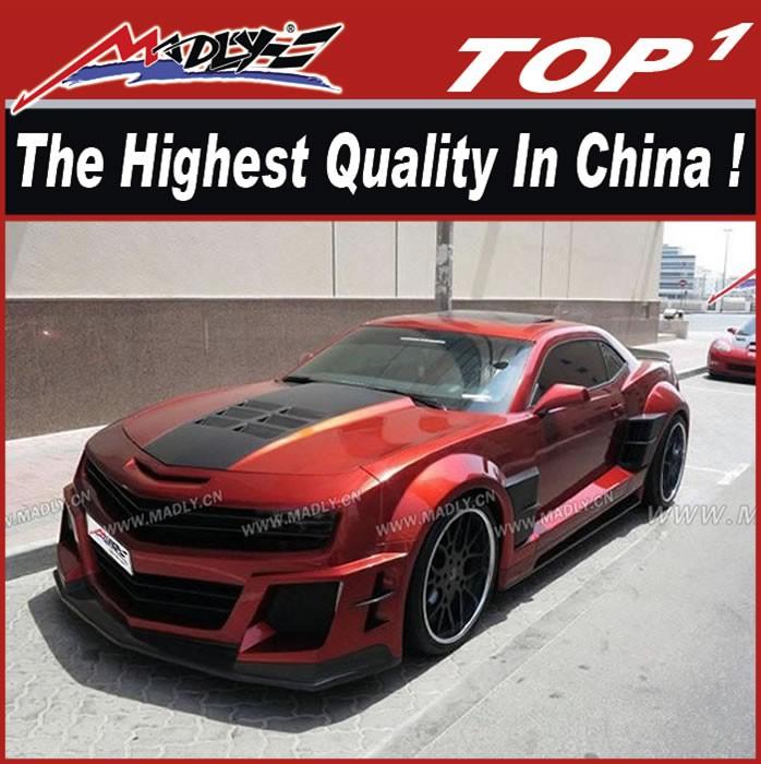 Chevrolet Camaro Bodykit >> 2010 2015 Chevrolet Camaro W Style Body Kit Chevrolet Camaro Body