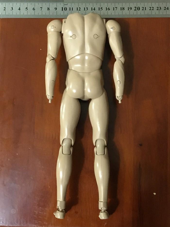"""SCALA 1//6 Uomini Nero Spalla Larga Figura Corpo B004 Fit for 12/"""" Action Figure"""