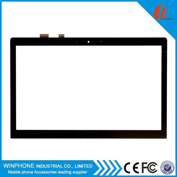 "15.6"" Touch For ASUS Vivobook Q550 Q550L Q501 Q502 Touch Screen Digitizer Glass DA5357SA in stock"