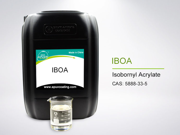 98.5% High Purity IBOA Monomer Cas No 5888-33-5 Isobornyl Acrylate for UV Coating