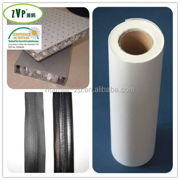 Double side glue thermoplastic Adhesive Film used in manufacturing of Aluminum composite Pannel