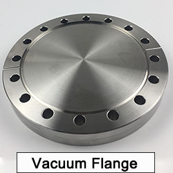 Vacuum Stainless steel CF to ISO tubulated adaptor