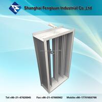 Ventilation Ducting Valves Types Square Fireproof Damper for HVAC System