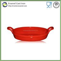 enamel pie dish cast iron fry pan baking pans