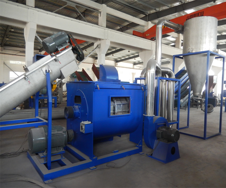 Cost of LLDPE LDPE PE PP plastic film washing recycling machine line  plant with good price