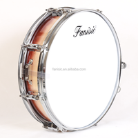 Lacquer Finish Snare Drum with Snare Drum Lugs and Customized Color