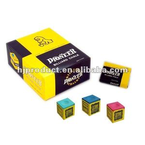 Manufacture A Grate Colorful Billiard Cue Chalk, Slate Chalk