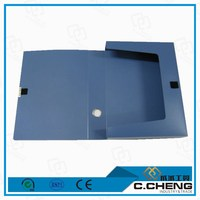 High quality sample of plastic file box/ presentation folders