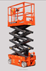 self-propelled scissor car lift/hydraulic scissor lift table for rental