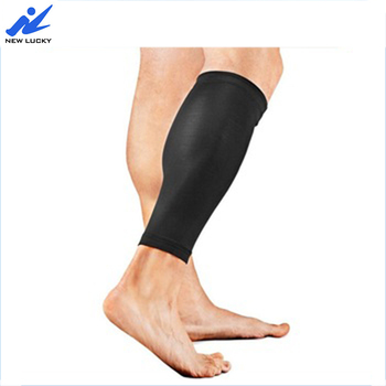 Hot selling Shin Calf Compression Sleeves Sporty Running slim Leg Socks