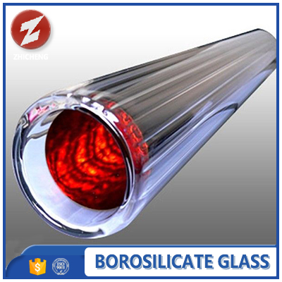 heat resistant solar thermal collector evacuated tube