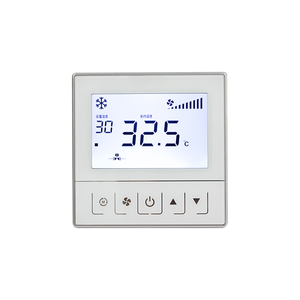 smart home Water floor heating system temperature control glass lens room digital wifi thermostat