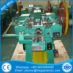 Recycle Scrap Building Rebar Used Steel Nail Making Machine