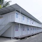 China Prefab Home Easy Installation Luxury Two Story Container House For Uganda School