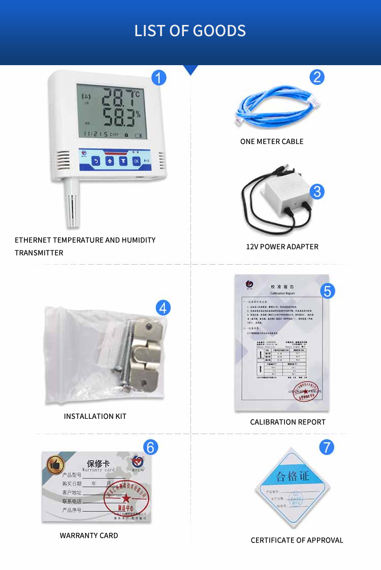 GSM/GPRS Temperature and Humidity Data logger