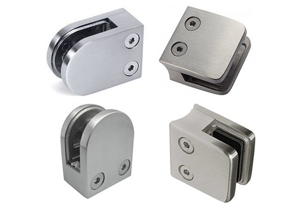 Glass Attachment Hardware : Dongying metals glass mounting hardware for wall mounted