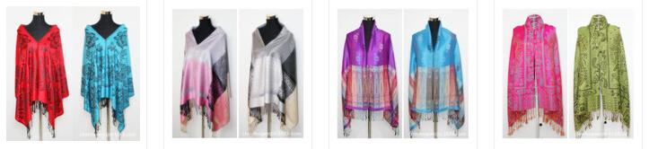Ebay Hot Sale Fahion Ladies Bohemian Style Winter Warm Big Poncho ...