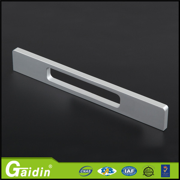 Eco-friendly aluminum furniture out furniture wardrobe cabinet bathroom drawer door pull handle