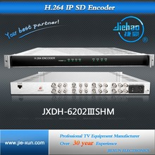 8 channels H.264 HD encoder IPTV online streaming push to wowza server