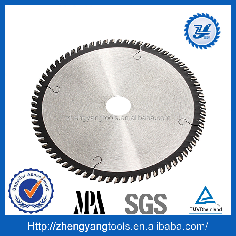 small TCT circular saw blade for cutting METAL with TUV&MPA certificate