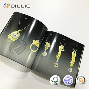 Custom Print Fashion Design Cheap Full Color Company Promotional Sample Catalog Booklet brochures printing factory