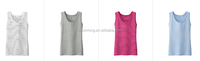 Sleeveless comfortable women's vest 100% cotton