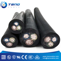 flexible copper rubber sheath cable 16mm 25mm 35mm