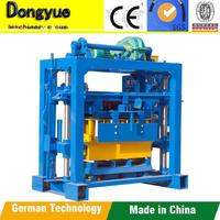 qt40-2 hollow cement block maker machine Soil cement