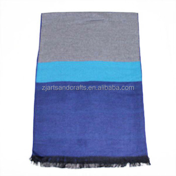 large cashmere knitting scarf