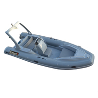2018Year New hypalon material rib boat Inflatable Rescue Boat For Sale