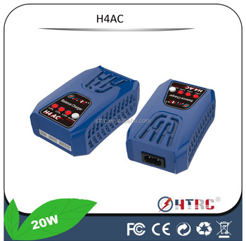 H4 2-4 Cell LiPo / LiFe AC Balance Charger For the RC cars