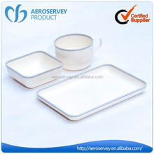 Modern cheap airline product plastic iran dinner sets