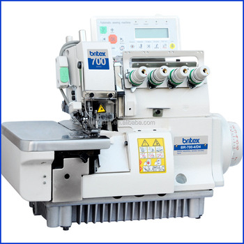 4000400d400 Computerized Automatic Four Thread Overlock Sewing Machine Custom Juki Sewing Machine Price
