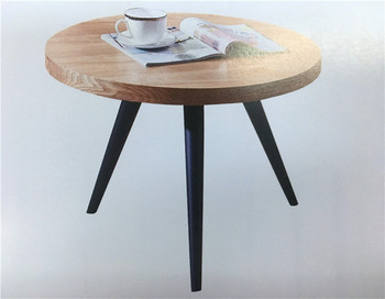 Modern Latest Design Wooden Teapoy Small Round Coffee Table