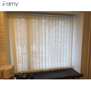 High quality fabric vertical blind parts blackout vertical blinds