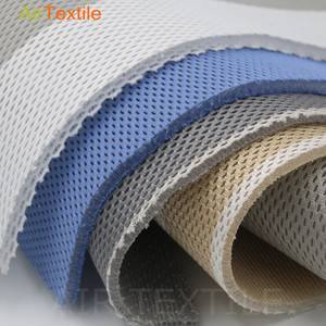 knitted spandex spacer sandwich nap mat using foam mesh fabric