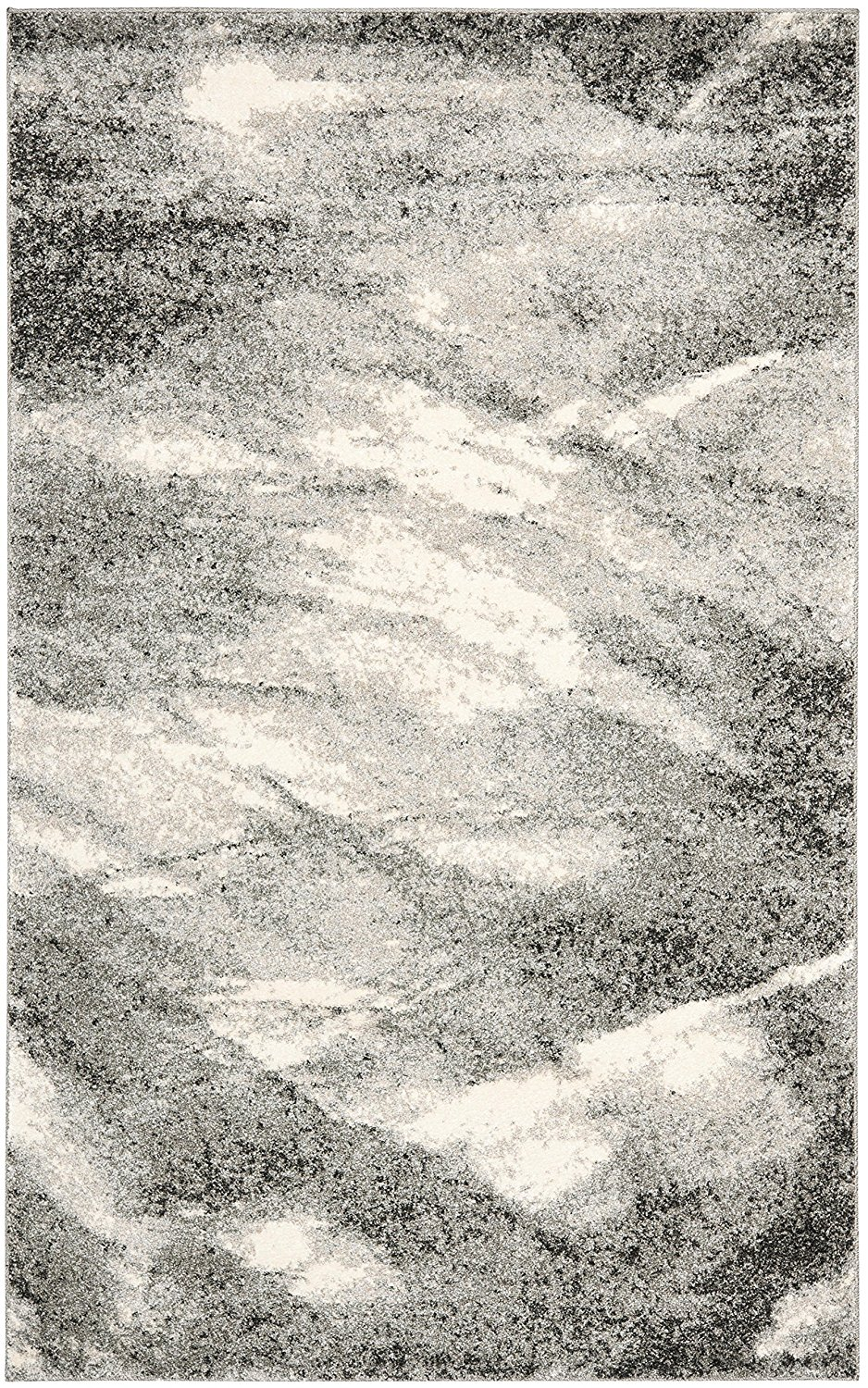 Get Quotations Safavieh Retro Collection Ret2891 8012 Modern Abstract Grey And Ivory Area Rug 5