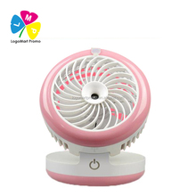 Customized Design High Quality Plastic Electric Mini Fan USB Humidifier