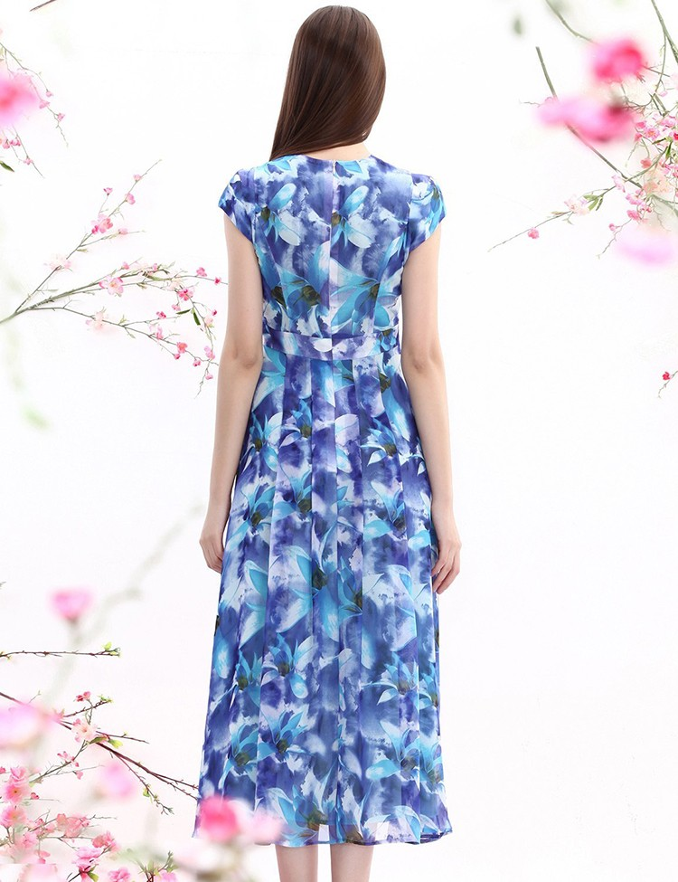 88fcc1450afd Ecoach Wholesale ladies western dress women short sleeve custom print long  dress 2016 fashionable maxi dress