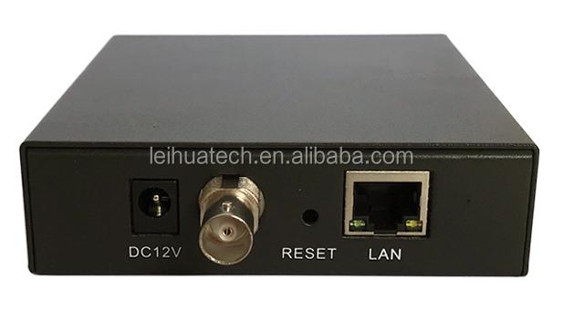 Mini SDI untuk IP Converter 1080P @ 60 Video Encoder H.265 H.264 Streaming Peralatan Middleware + Decoder + APK Penjahit
