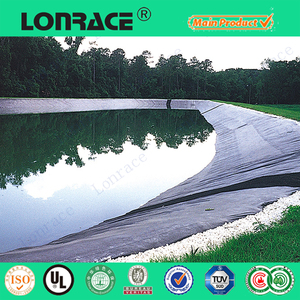 black color 1mm HDPE Geomembrane/LDPE geomembrane/pond liner