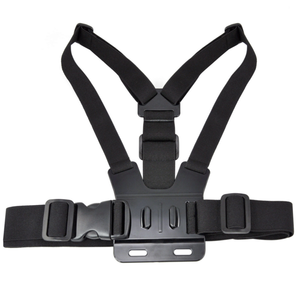 Action Camera Harness Adjustable Elastic Shoulder Chest Strap B for GoPro Hero 4 3 3+ 2 SJ4000 SJ5000 Xiaomi yi Sport Camera