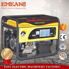 6.5HP 2.5kw king power max power generator for family use