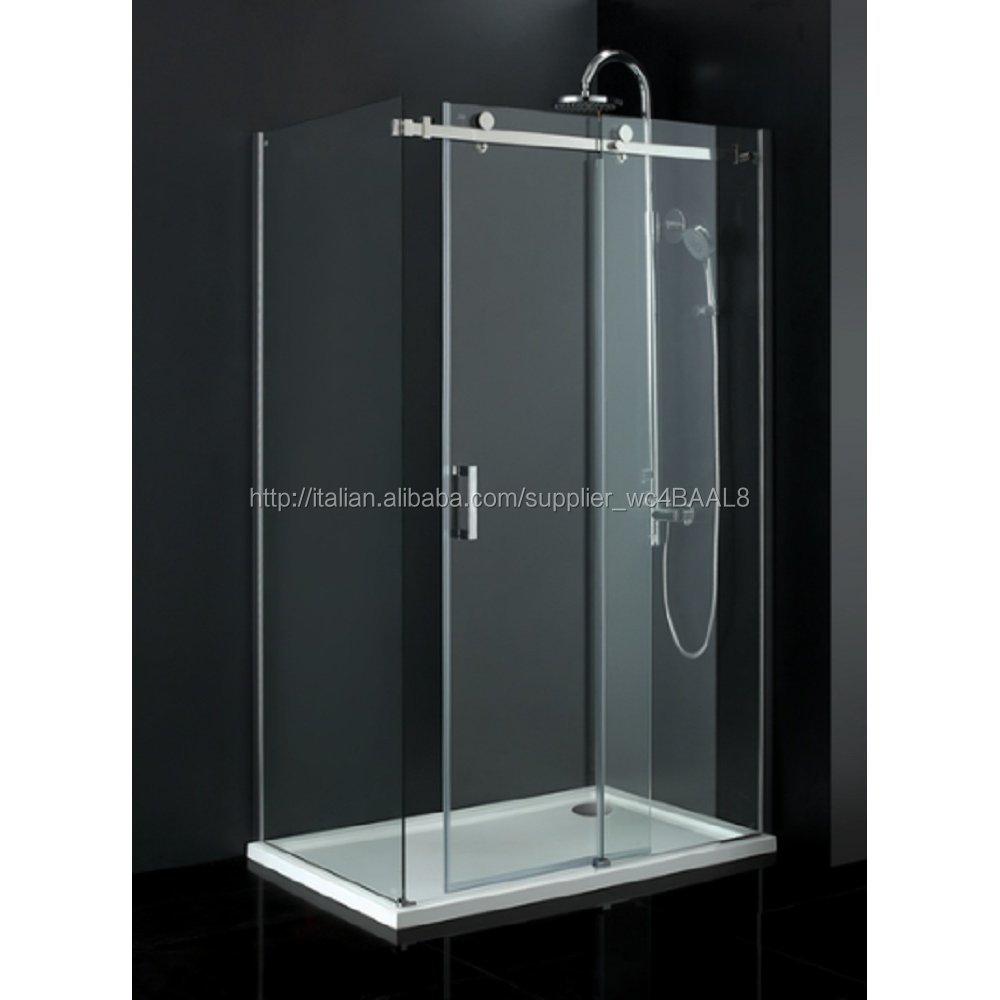 bagno cabina doccia porte scorrevoli/porte doccia in vetro senza ...