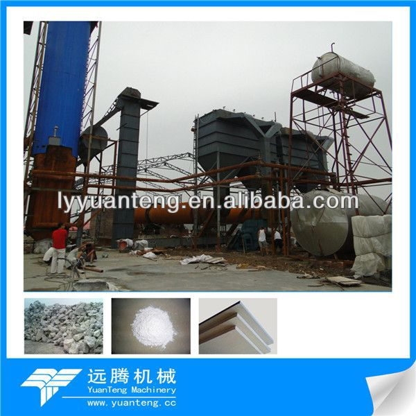 gypsum  production line in China