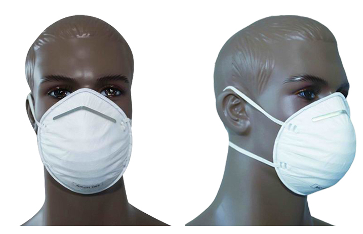 China Brand Name Medical Activated Carbon Filter Gas Mask