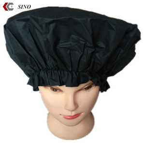 Best selling good quanlity jumbo shower cap vinyl material hotel bathing cap